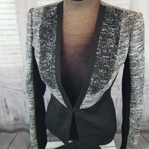 BCBG Max azria XS suit top blazer jacket suit